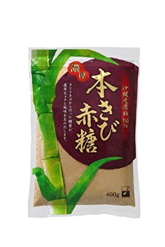 スプーン印 本きび赤糖 400g【10袋セット】