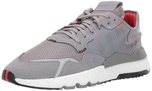 adidas Originals Men's NITE Jogger Hiking Shoe, Grey Three/Grey Three/FTWR White, 10 M US