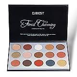 Metallic Shimmer Mate 15 Color Sombras de Ojos Combinación Impermeable Smokey Paleta de Maquillaje Eyeshadow