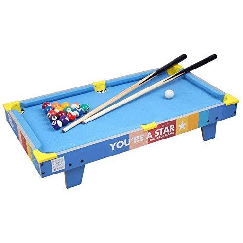 WCJ Kinder Billiardtisch Kinder Adult Game Entertainment Mini-Pool Table Set Geschenke for Jungen und Mädchen Home Office Schreibtisch