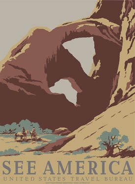 Ford Arches National Park Poster