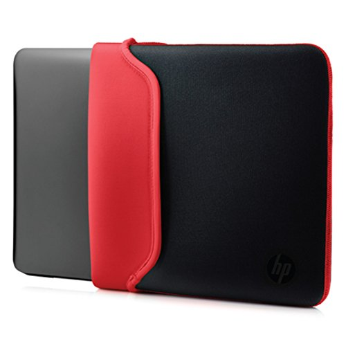 "HP - Funda de Neopreno Reversible de 15.6"" Color Rojo"