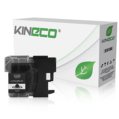 Kineco Tintenpatrone kompatibel für Brother LC-1100BK DCP 195C 585CW 145 165C