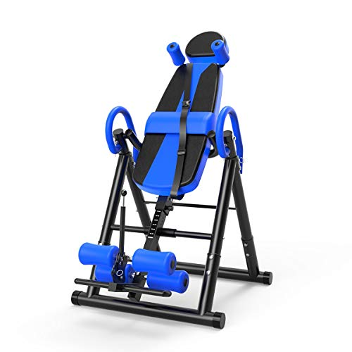Buy Bargain Inversion Table Fitness Chiropractic Back Stretcher Machine Safety Reflexology Pad Home ...