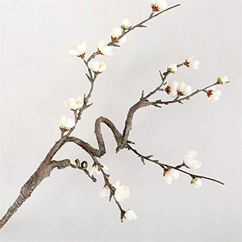 Qiaoqi Artificial Flores Falsas Ramas secasFlores, Ramos de Boda para decoración de Bodas, hogar, jardín,Fiesta