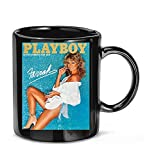 LOUISEOCHRNE Vintage Classic Playboy Magazine #Farrah Fawcett 1978 Cover Picture Coffee Mug for Women and Men Tea Cups
