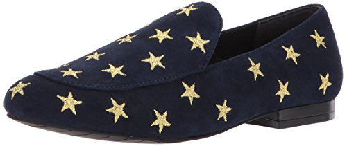 Kenneth Cole New York Women's Westley Slip on Loafer Flat, Navy, 8