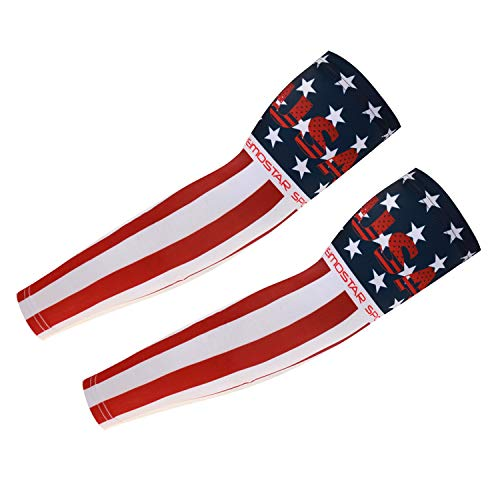 Cycling Armwarmers For Womem Men Arm Sleeves UV Protection USA XL