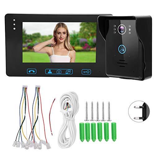 Videoportero Videoportero Videoportero WiFi Anti-oxidación para vigilancia Electrónica doméstica(Transl)