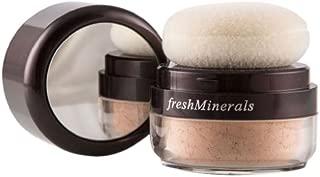 freshMinerals Mineral Powder Foundation, Richer, 6 Gram