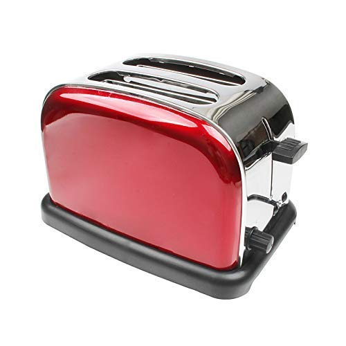 XXY-shop Tostadora MáQuina para Hacer Pan, Completamente AutomáTico Inicio 2 Piezas Desayuno Pastel Tostada Sandwich Tostadora EléCtrica