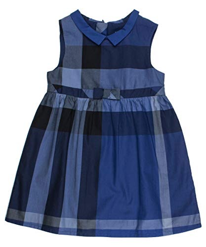 BURBERRY Kleid - blau, Größe:9 Monate / 74