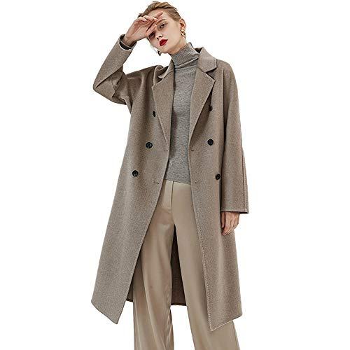 NZHK Womens winterjassen en -jassen, stijlvolle winterjassen, kasjmier met twee gezichten, comfortabel en warm met geschikt voor dagelijks gebruik of feest