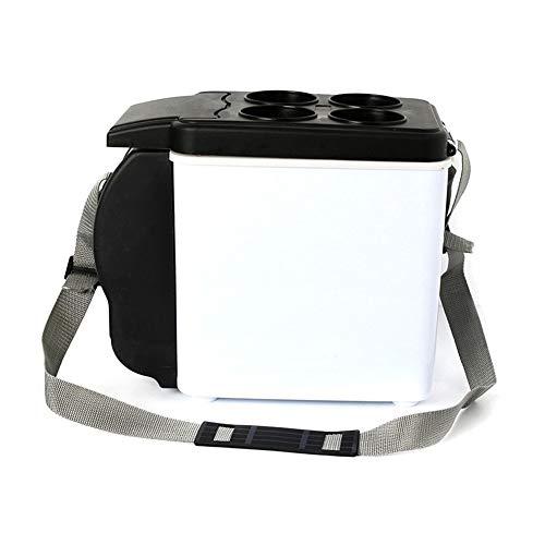 QLBF Kleine Kühlbox für Kühlschränke Geräuscharm Kühlschränke Auto-Mini-Kühlschrank elektrische Kühler und Wärmer for Auto und Haus - 6L Auto Kühlschrank, tragbaren Mini-Kühlschrank