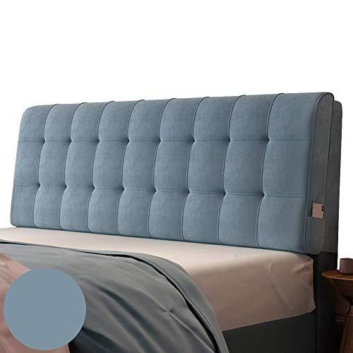 Barture Respaldo Grande Almohada Lumbares Tapizado Absorción De Humedad Respirable Lavable Depender, 9 Colores, 7 Tamaños (Color : 8#, Size : 190cm)