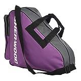 Sherwood Schlittschuhtasche Skate Bag - Bolsa de Deporte, Color Morado, Talla 36...