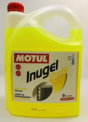 MOTUL Anticongelante Refrigerante Especial Motores Renault Inugel Type D, 5 litros