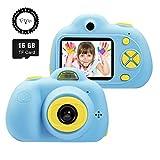 SeeKool Cámara Digital para niños,2 Objetivos Selfie...