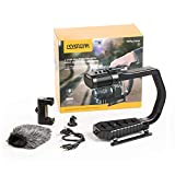 Sevenoak MicRig Universal Video Grip Handle with Integrated Stereo Microphone for DSLR Cameras, iPhone, Android Smartphones, GoPro HERO3, HERO3+ HERO4