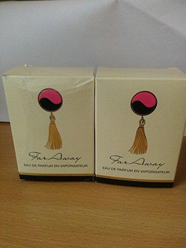 2 x perfume far away avon 50ml nuevas con caja