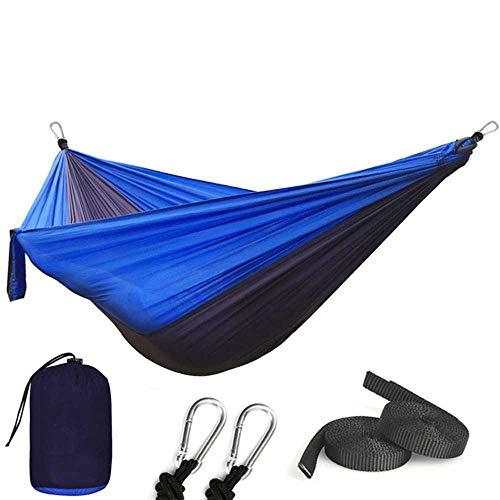 NOBRAND 1-2 Personas Durmiendo Paracaídas Hamaca Silla Hamak Jardín Columpio Colgando Al Aire Libre Hamacas Camping 118 * 78 ''