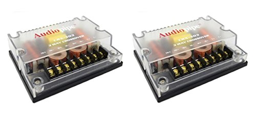 2 PACK 3 way Crossover CRX-303 3...