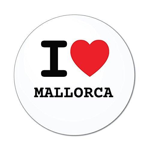 JOllify Aufkleber - Mallorca – Farbe: Design: I Love - Ich Liebe