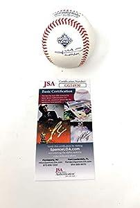 Juan Soto Washington Nationals Signed Autograph Official MLB Baseball World Series JSA Certified