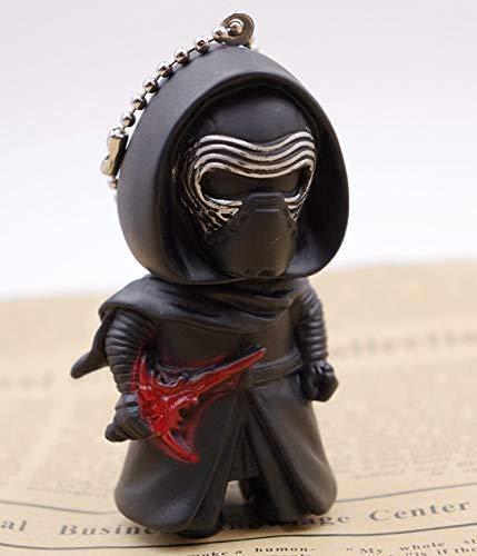 Porte-clés 3D Star War Cosplay Le Réveil de la Force Dark Vador Storm Trooper Porte-clés pour enfants (couleur : 2, taille : normale)
