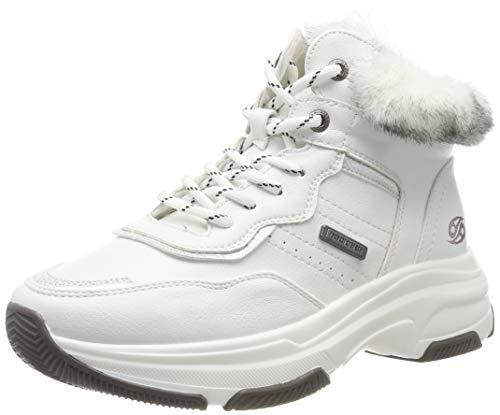 Dockers by Gerli Women's Low-Top Sneakers, White Weiss 500, 6.5