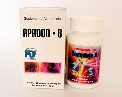 Complejo B con manzana y acido fólico COMPLEJO B   Fórmula completa para el incremento de energía, salud del corazón, estrés y sistema nervioso   B1, B2, B6, B12,   60 Tabletas   100% Natural   Vegano