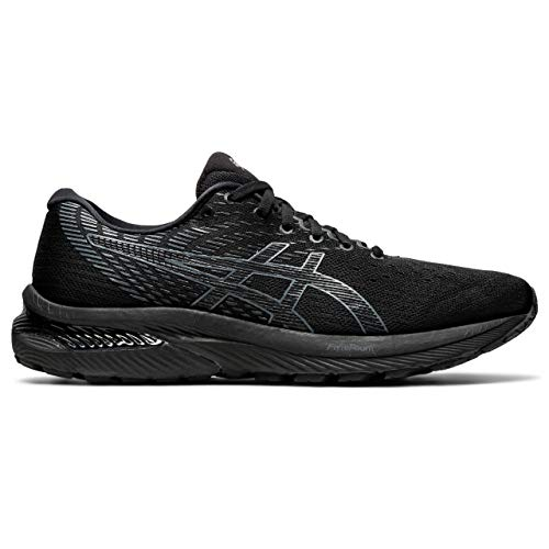 ASICS Herren Gel-Cumulus 22 Laufschuh, Black Carrier Grey, 45 EU