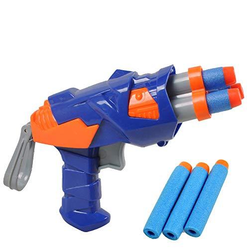 Los niños de bala suave pistola de juguete Mauser colorido arma con balas blandas, enseñar shooter y la seguridad de la pistola para la diversión al aire libre juego y niños juego seguro