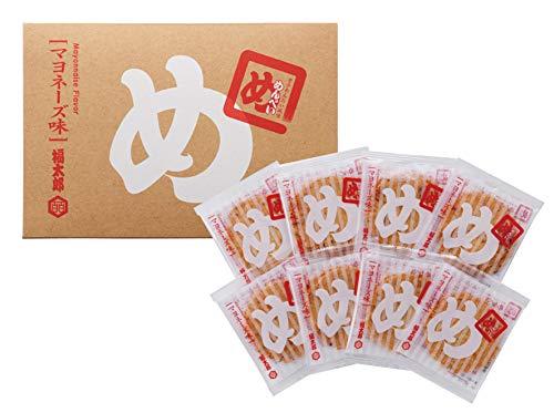 福岡博多土産 山口油屋福太郎 めんべい マヨネーズ味 辛子めんたい風味 1箱 2枚×8袋