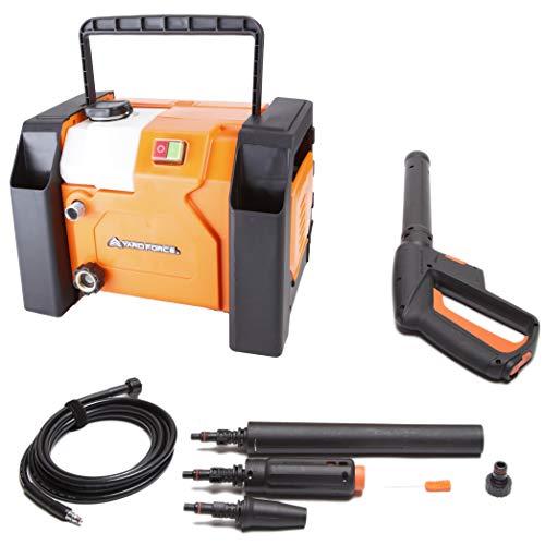 YardForce 1800W Elektro Hochdruckreiniger EW U13 - Leistungsstarker Elektro-Druckreiniger im kompakten Box-Design - Ideal für Terrasse, Auto oder Steinböden und Reinigungen in Garten & Haushalt