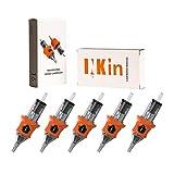 INKin 80Pcs Mixed Soft Silicone Tattoo Cartridge Needles 3RL 5RL 7RL 9RL 11RL 0.35mm Standard Round Liner Assorted for Tattoo Machine Supply