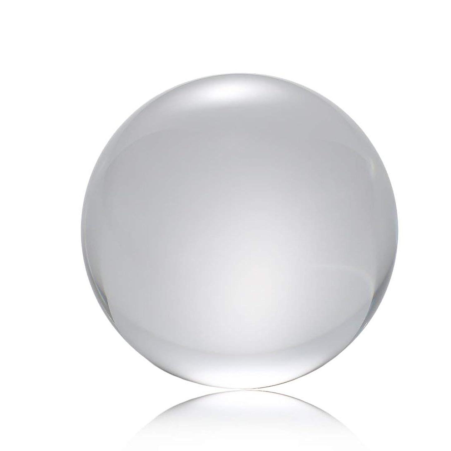 Swiftgood 50ミリメートル/ 80ミリメートル/ 100ミリメートルクリスタルボールクォーツガラス透明ボール球風水ガラス玉ミニチュア装飾品ギフト