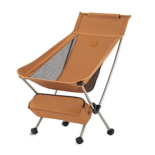 Naturehike Silla Plegable de Camping Silla Portátil Al Aire Libre con Bolsa de Transporte Sillas Ultraligeras para...