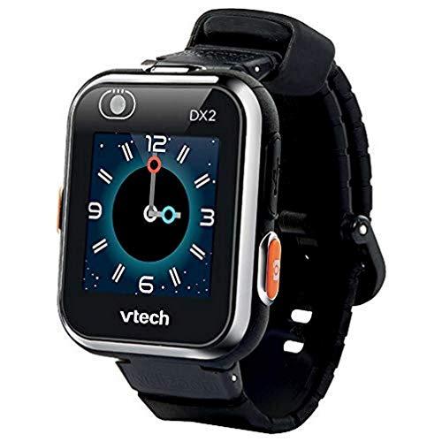 VTech Kidizoom Smart Watch DX2 - Reloj Inteligente para niños, Color Negro, versión Francesa (193865)