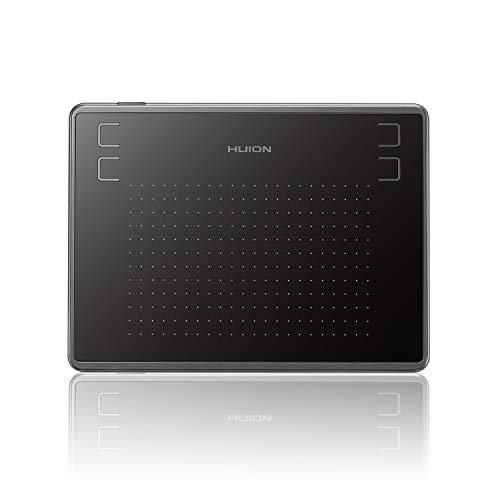 Mesa Digitalizadora, Huion, H430P, Tablets de Design Gráfico, Black