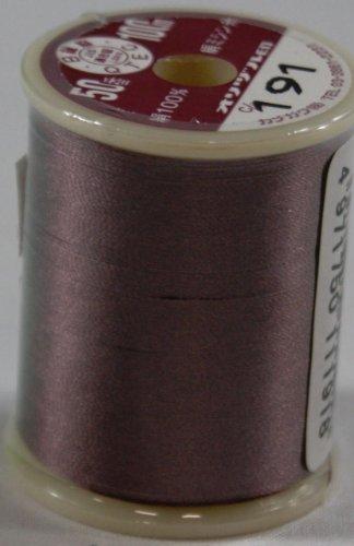 オリヅル絹ミシン糸  50番 100m  191
