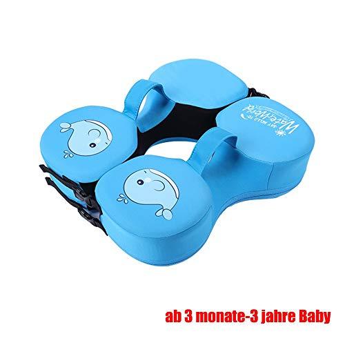 Hals schwimmring halsring Baby badewanne ab 6 Monate,Solid Schaum Auftriebsring,Infant Swim Pool floatie Kinder Achsel Arm Float Schwimmfligel Kinder (Color : 3)