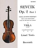 Sevcik Opus 2, Part 1 for Viola Alto: School of Bowing Technique