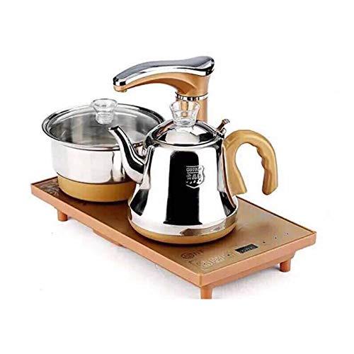 Elektrischer Wasserkocher, schneller elektromagnetischer Drei-in-Eins-Teeofen, Haushaltskessel, automatische Wasserversorgung, intelligentes Kung Fu-Teeservice und Teetablettset A