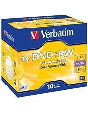 Verbatim 43246Sola Cara, de una Sola Capa DVD + RW