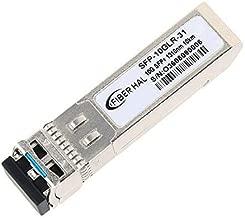 FiberHal for Juniper QFX-SFP-10GE-LR, 10G SFP LR Module, SMF 10GBase-LR SFP Optic Transceiver, 1310nm, Reach 10km