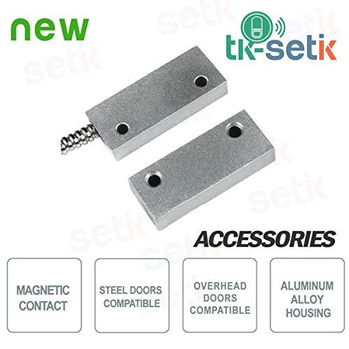 Setik - Contatto Magnetico a vista in metallo Setik CSA 403-AP - TK-403AP