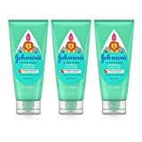 Johnson's No More Tangles Detangling Toddler & Kids Conditioner, Gentle No More Tears Formula, Hypoallergenic and Free of Parabens, Phthalates, Sulfates and Dyes, 6.8 fl. Oz (Pack of 3)