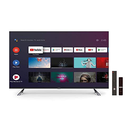 "STRONG SRT50UC7433 50"" (126 cm) ANDROID 4K Ultra HD LED Smart Fernseher mit Triple Tuner (HDTV, HDR 10, WCG, WLAN, Netflix, Google Voice Control, HDMI, Scart, USB, EPG, CI+, Hotel Modus, DVB-T/T2/C/S2"