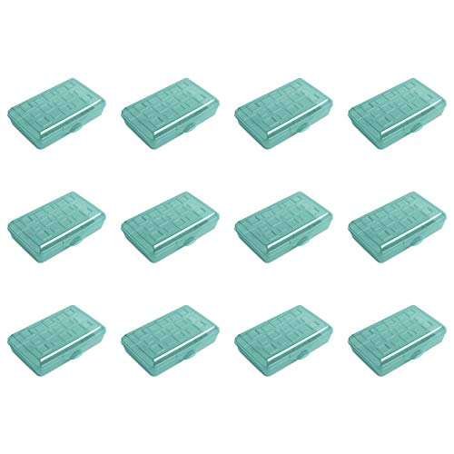 STERILITE 17226W12 Box, Pack of 12, Molokai Blue Tint, 12 Pack